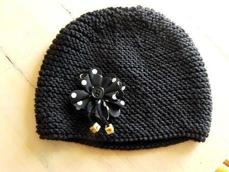tuto bonnet tricot laine et tricot. Black Bedroom Furniture Sets. Home Design Ideas