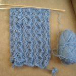 Echarpe facile tricot