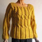Tricot en laine fait main
