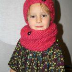 Tuto tricot snood enfant