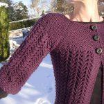 Les points de tricot aux aiguilles
