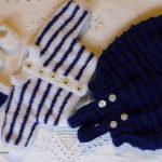 Vetement tricot poupon 30 cm