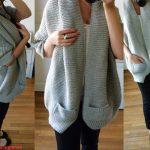 Tricoter un gilet long en laine