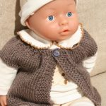 Modele de tricot pour poupon