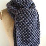 Echarpe tricot facile