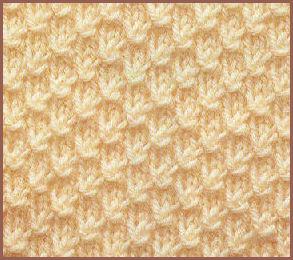 Diff rents points de tricot aux aiguilles laine et tricot - Differents points de tricot ...