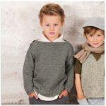 Modele de pull a tricoter gratuit pour garcon
