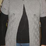 Gilet femme tricot tuto