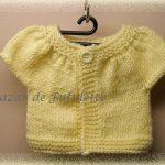 Modèle tricot pour poupon