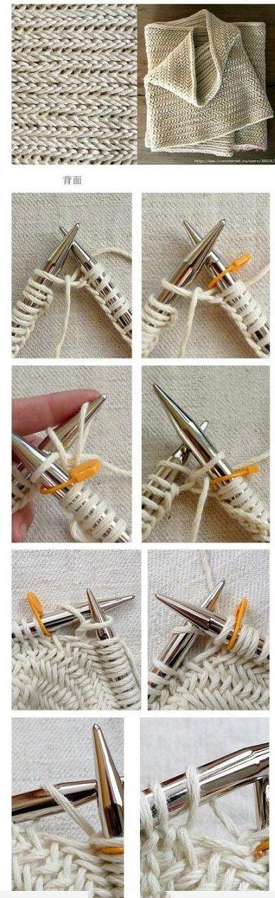 comment commencer un tricot pour une echarpe