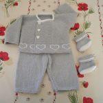 Modele de tricot layette
