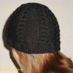 Tuto bonnet tricot femme