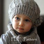 Tuto bonnet tricot fille