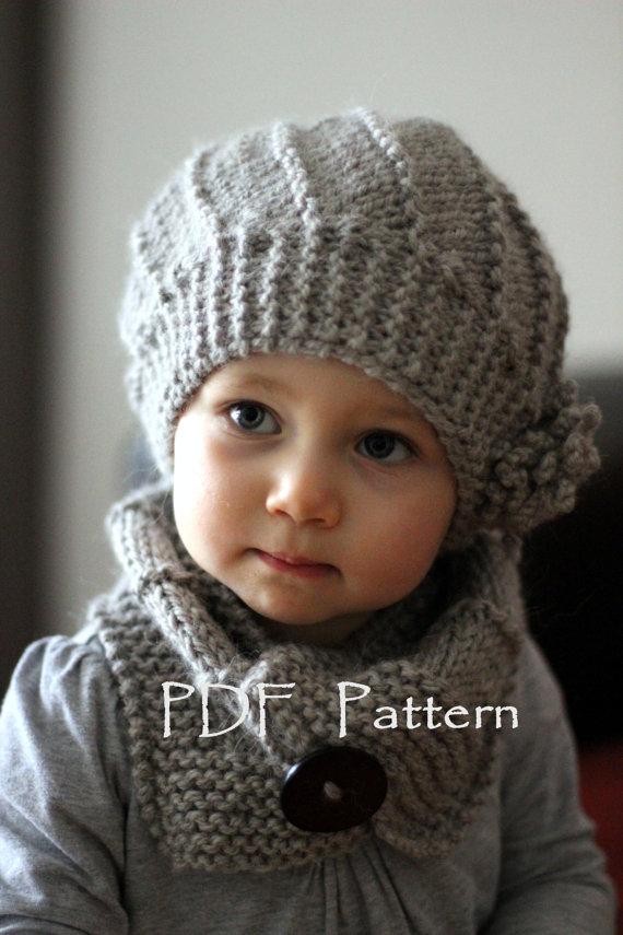 tricoter un bonnet fille