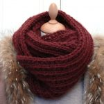 Comment faire un snood en tricot
