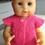 Modele poupee tricot