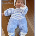 Modeles vetements poupon tricot