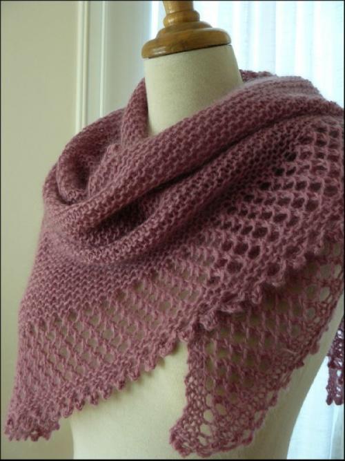 chale a tricoter