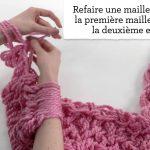 Comment tricoter un echarpe