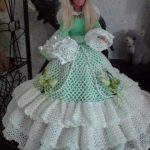 Robe barbie tricot