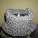 Point de tricot pour écharpe