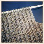 Modele de point de tricot