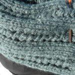 Points de tricots pour une écharpe