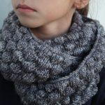 Faire un snood en tricot