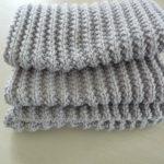 Point pour echarpe laine