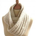 Echarpe snood tricoter