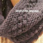 Tricoter snood avec aiguilles circulaires
