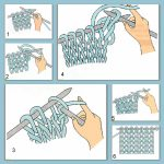 Apprendre tricoter echarpe