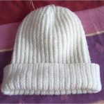 Explication bonnet femme tricot