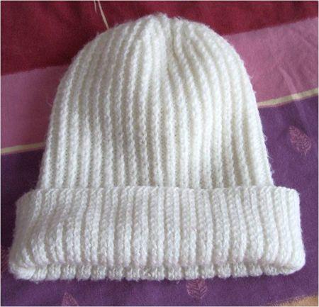 Explication bonnet femme tricot laine et tricot - Modele de bonnet a tricoter facile ...