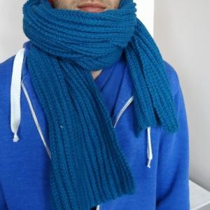 Modèle tricot écharpe homme gratuit