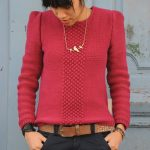 Tuto tricot pull femme