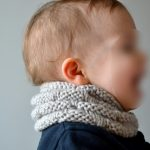 Modele snood tricot enfant