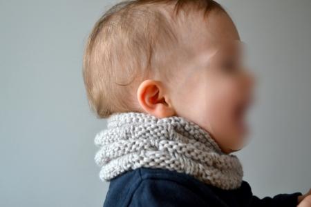 Modele snood tricot enfant - Laine et tricot 41ac19abf0d