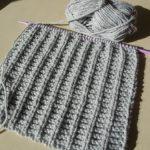 Modele gratuit snood tricot