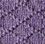 Point simple tricot