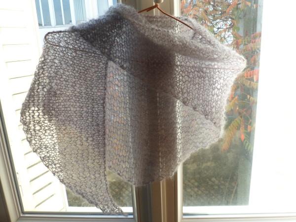 Tuto chale facile laine et tricot - Tuto tricot debutant gratuit ...