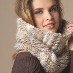 Modele echarpe tube a tricoter