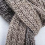 Tuto echarpe laine