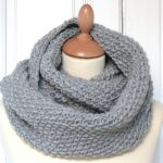 Tuto snood tricot homme