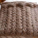 Modele gratuit echarpe tricot femme