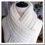 Modèle écharpe tricot femme gratuit