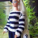 Tricot barbie modele gratuit