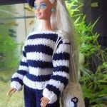 Tricot barbie gratuit