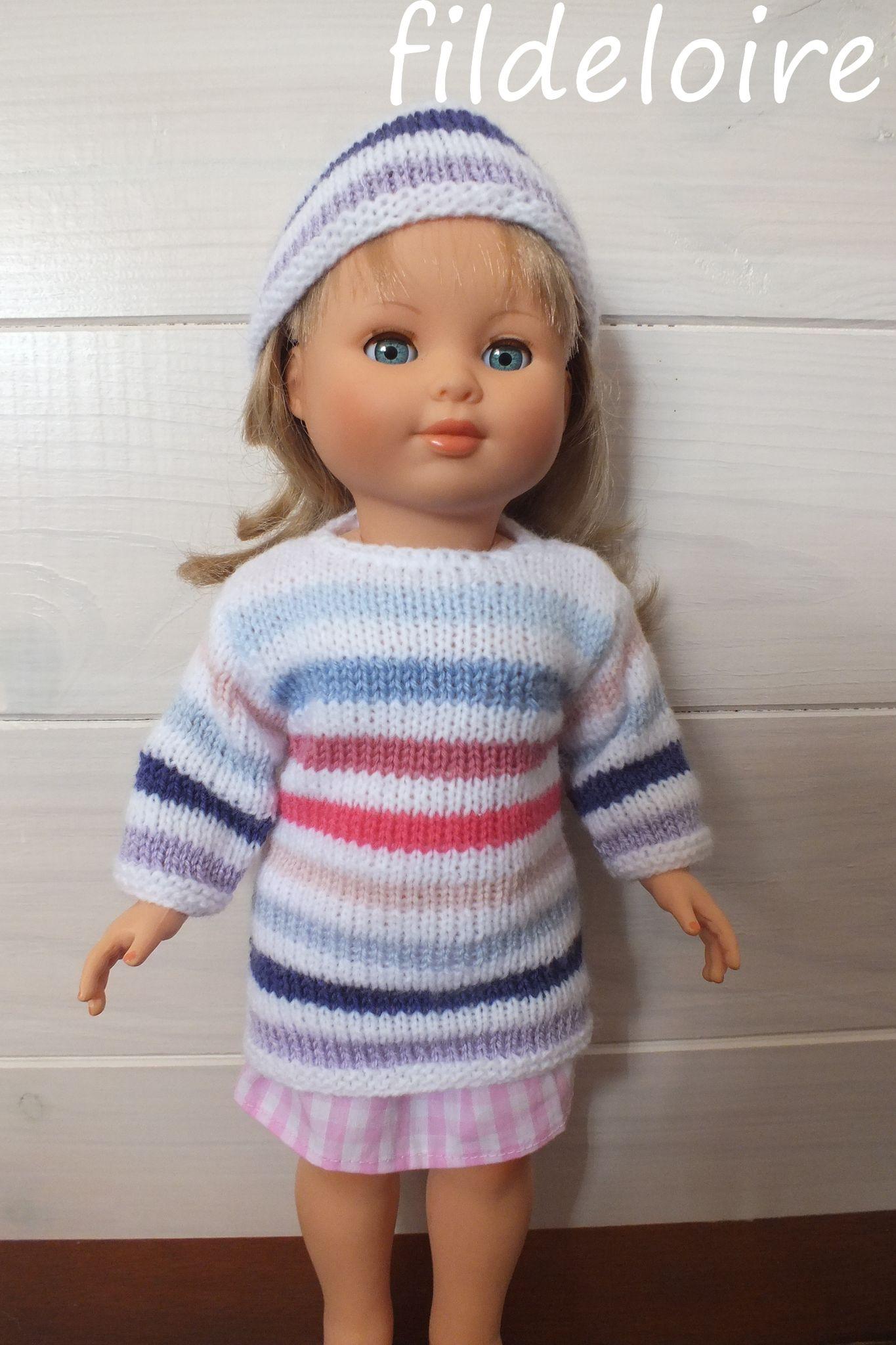 tricoter vetement pour poupon