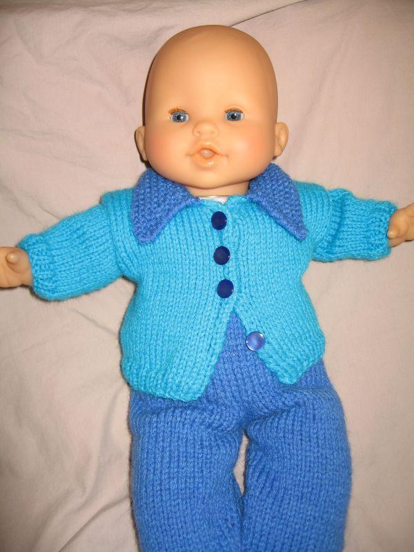 Modeles tricot poupon 36 cm - Laine et tricot fda44bef242d